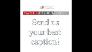 Cartoon Caption Contest – April