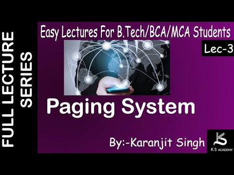 Paging System|Wireless Communication||BTech||Lect 3