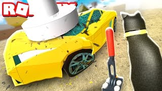 CRUSHING EXPENSIVE CARS IN ROBLOX