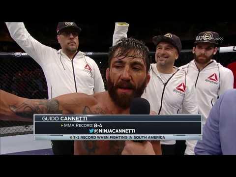 UFC Chile: Guido Cannetti entrevista en el Octágono