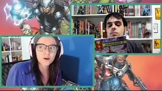 Vingadores, Monstro do Pântano e Miracleman