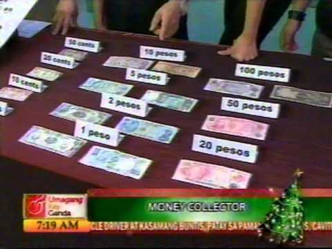 38.) Umagang Kay Ganda re- Collection of old Philippine money