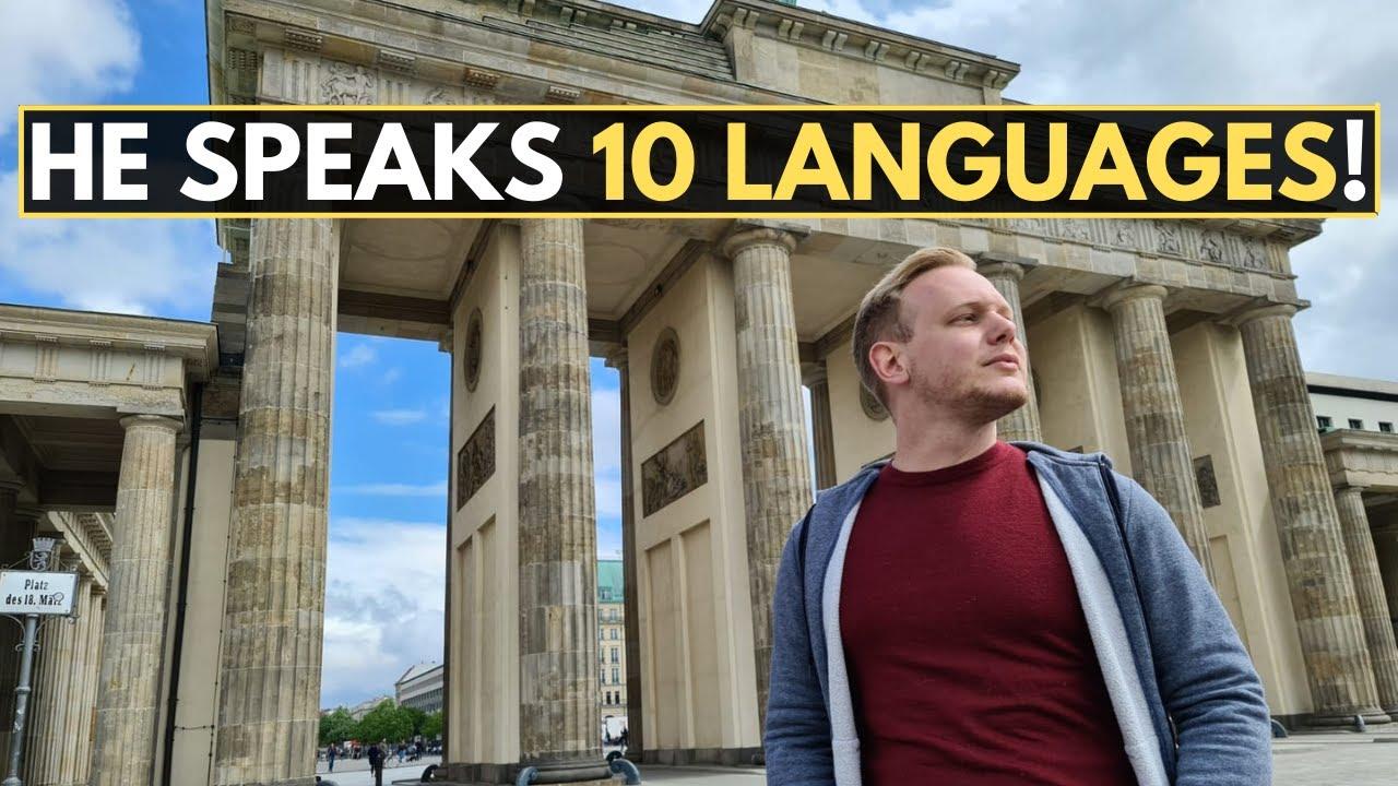 He Speaks 10 LANGUAGES! (polyglot)