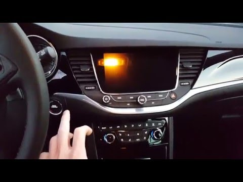 The new Opel/Vauxhall Astra k navi900 secret menu