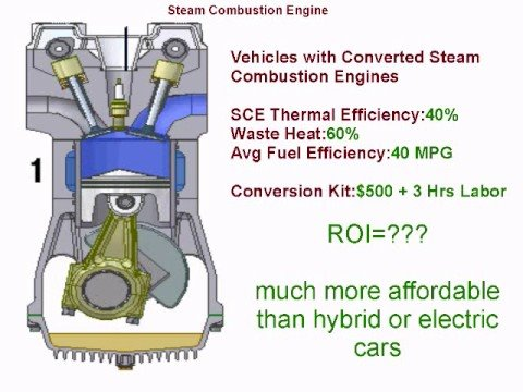 Google Project 10^100 - Steam Combustion Engine - YouTube