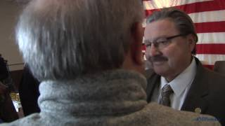 Sen. Kowall participates in Grand Rapids Vietnam veteran lapel pinning
