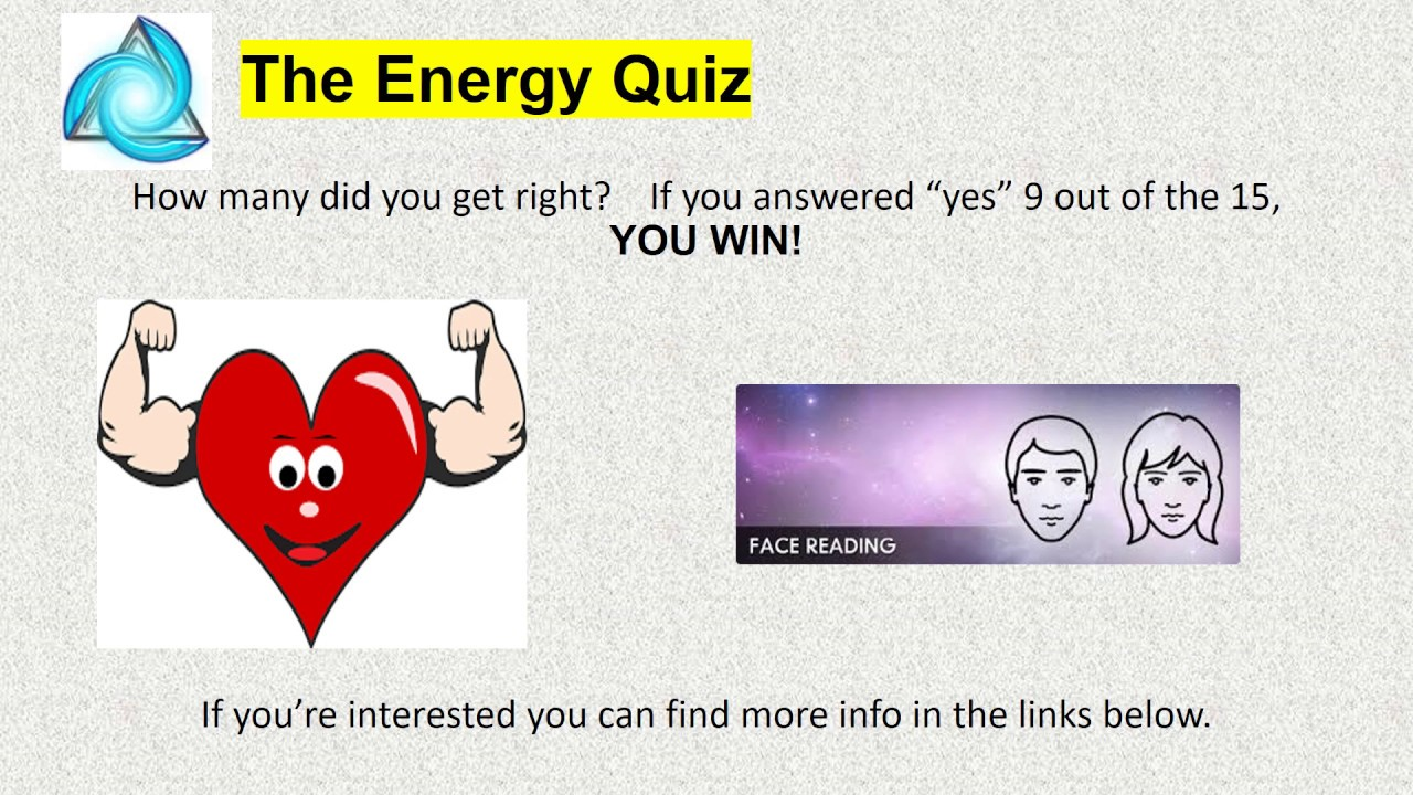 quiz questions on energy conservation