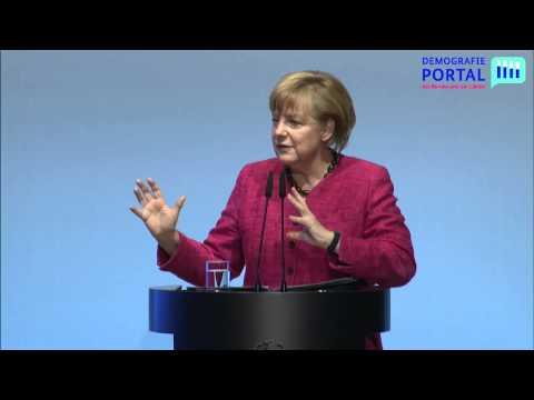 Demografiegipfel 2013 (Teil 2/8) - Rede von Bundeskanzlerin Dr. Angela Merkel