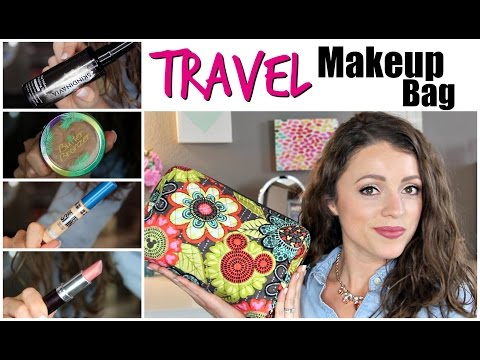 Travel Makeup Bag | Cruise & Theme Park