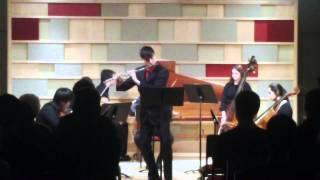 C.P.E. Bach Flute Concerto in d minor, III. Allegro di molto