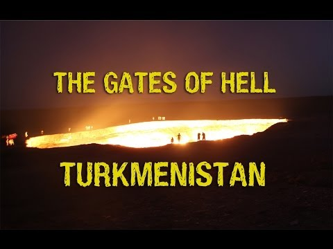 Video: Visiting The Gates Of Hell In Turkmenistan