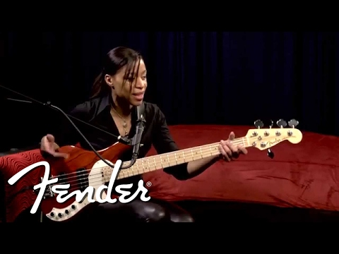 Download Youtube: Yolanda Charles on the Fender Dimension Bass | Fender