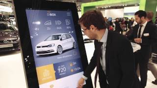 TableConnect at Vienna Auto Show for Volkswagen