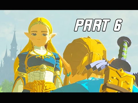 Legend of Zelda Breath of the Wild Walkthrough Part 6 - Blue Champion's Tunic (Let's Play)