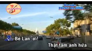 TINH THON DA TAN CO KARAOKE SONG CA