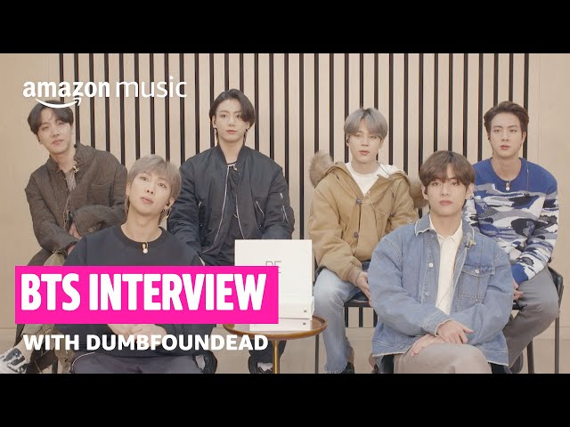 BTS Talks About GRAMMY Nomination, Quarantine Hobbies, and More With Dumbfoundead | Amazon Music