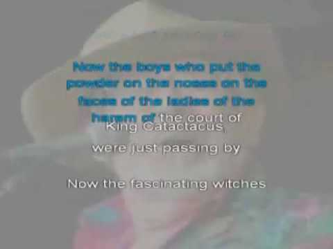 Court of King Caractacus - Rolf Harris - Karaoke