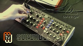 Minimoog Model D от Behringer (Superbooth 2017)