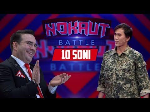 Nokaut Battle 10-soni (18.11.2017) (Javlon Shodmonov, Mamur Xolmedov, Mo'min Ibrohimov)