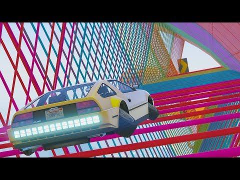TUNEL MISTERIOSO - CARRERA GTA V ONLINE - GTA 5 ONLINE
