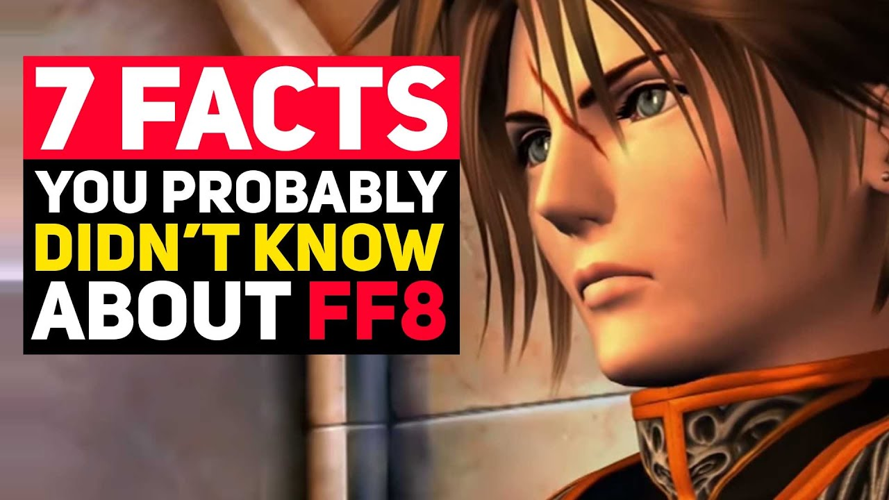 7 Obscure Final Fantasy 8 Facts You Probably Didn't Know