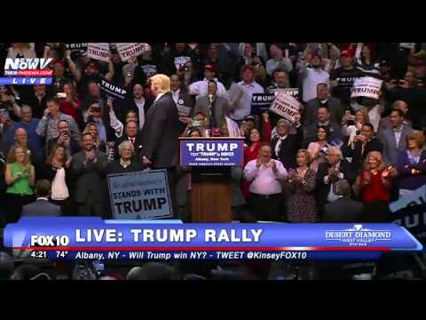 FNN: FULL Donald Trump Rally Albany, NY
