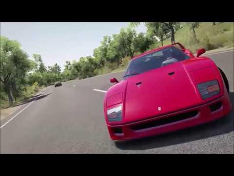 Ferrari F40 - Cinematic Attempt (Forza Horizon 3)
