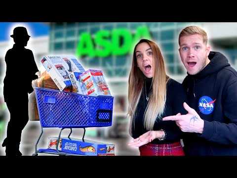 WE PAID FOR PEOPLE'S SHOPPING!!