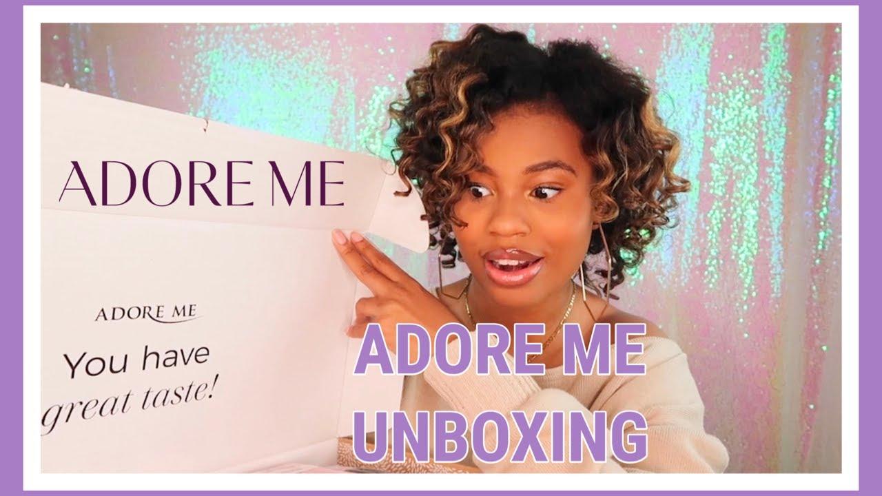 Adore Me Unboxing Haul 2020