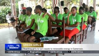 Video Teaching girls to turn waste to renewable energy in Cameroon download MP3, 3GP, MP4, WEBM, AVI, FLV April 2018