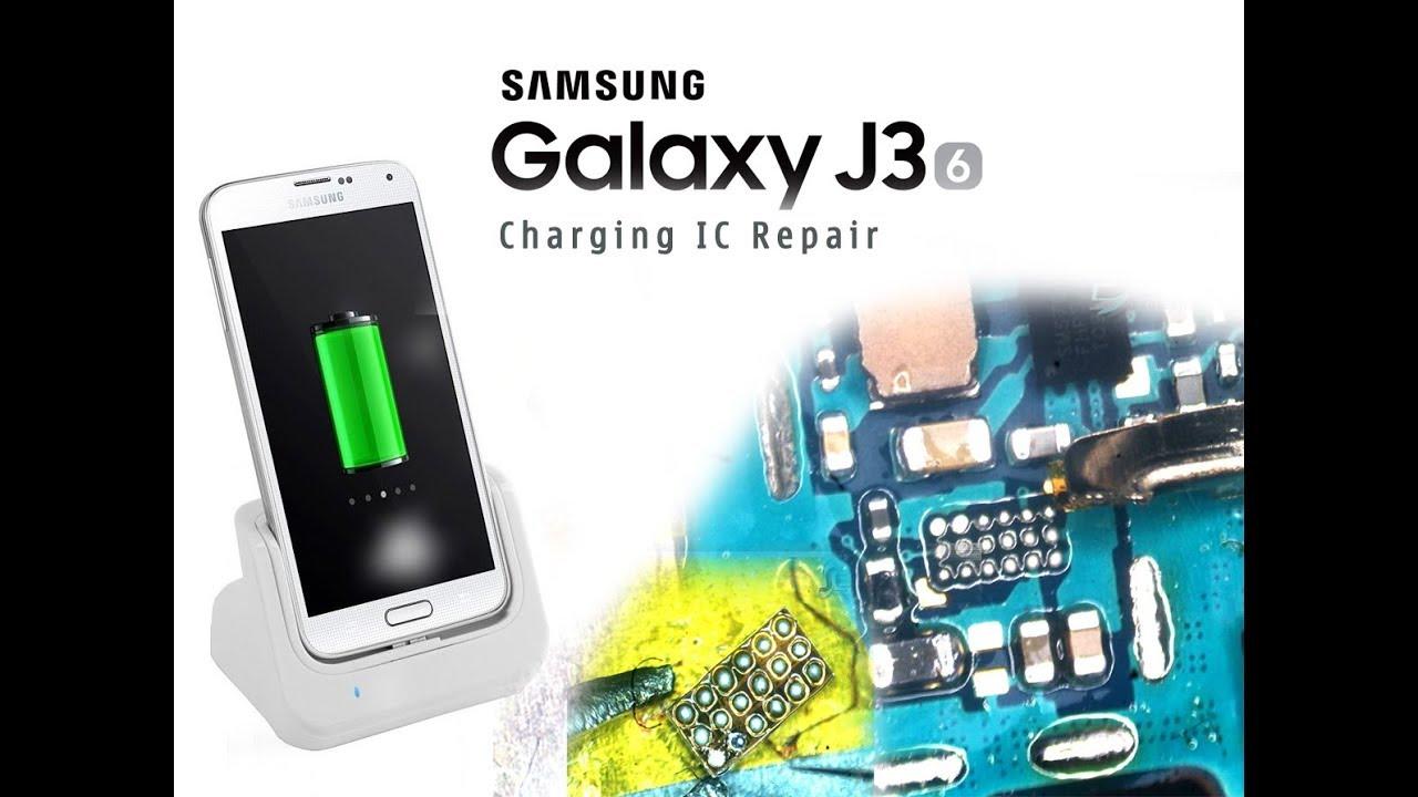 Samsung J3 2016  J320f  Charging Ic Reballing    Carregamento De Ic Reballing