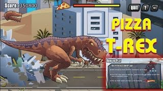 T REX GAMES FOR KIDS: Pizza Rex - How To Play And Walkthrough