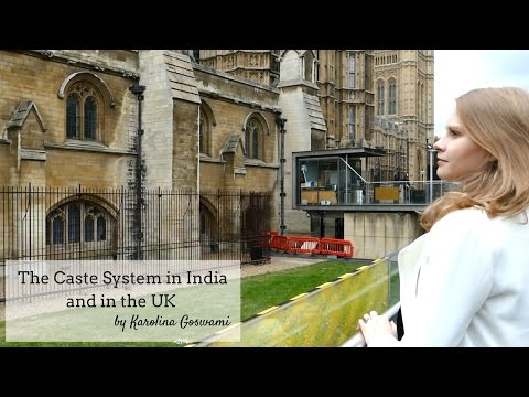 Caste system in India and the foreign media-Karolina Goswami-Indo British relationship Episode 3