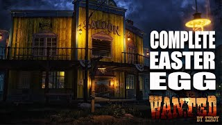 WANTED - COMPLETE EASTER EGG (Part 2)(Call of Duty Zombies)