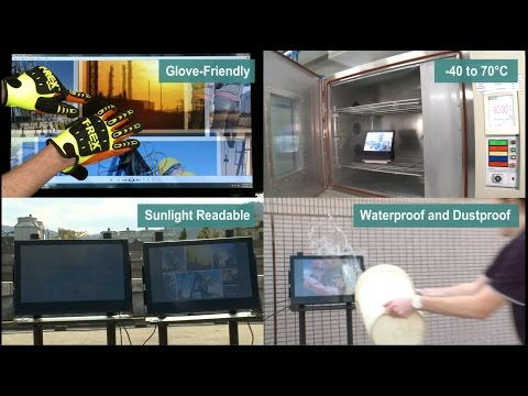 Demoing Rugged Displays and Panel Computers for Industrial Environments