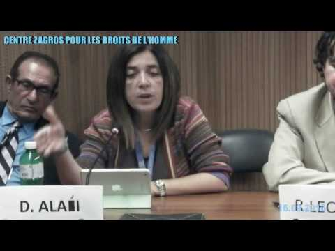 Side-Event : Minority Rights in Iran - 16/09/2016 - Part 4/4