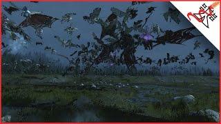 MASSIVE AIR BATTLE - Total War: WARHAMMER