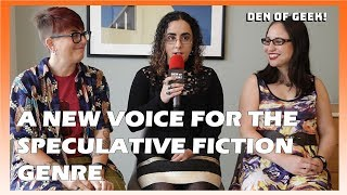 Speculative Fiction Voices: Annalee Newitz, S.L. Huang, K. Arsenault Rivera