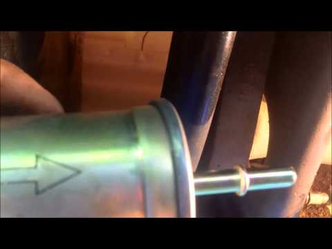 How To Change Ford Fuel Filter With Out Special Tool 3mins
