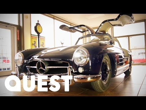 Restored 1957 Mercedes 300 SL Gullwing Sold For $790K | Chasing Classic Cars