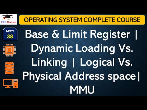 Base & Limit Register | Dynamic Loading Vs. Linking | Logical Vs. Physical Address space| MMU