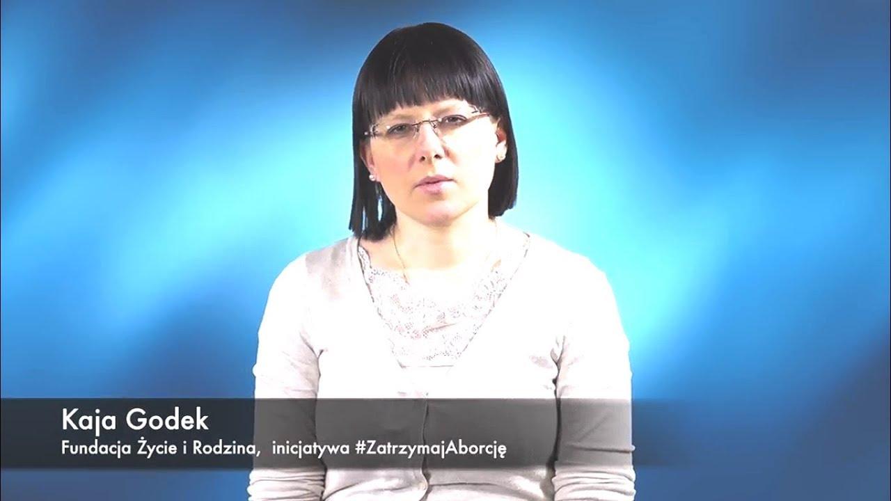 Kaja Godek prosi o wsparcie projektu #ZatrzymajAborcję