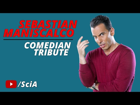 Sebastian Maniscalco – Stand-Up Comedian of the Year 2016 (Comedian Tribute)
