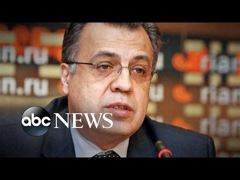 Russian Diplomat Assassinated in Turkey