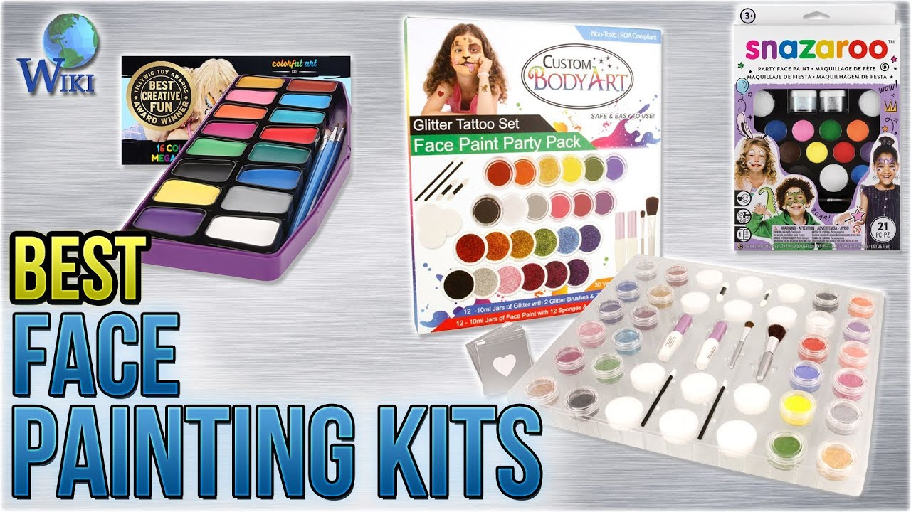 10 Best Face Painting Kits 2018