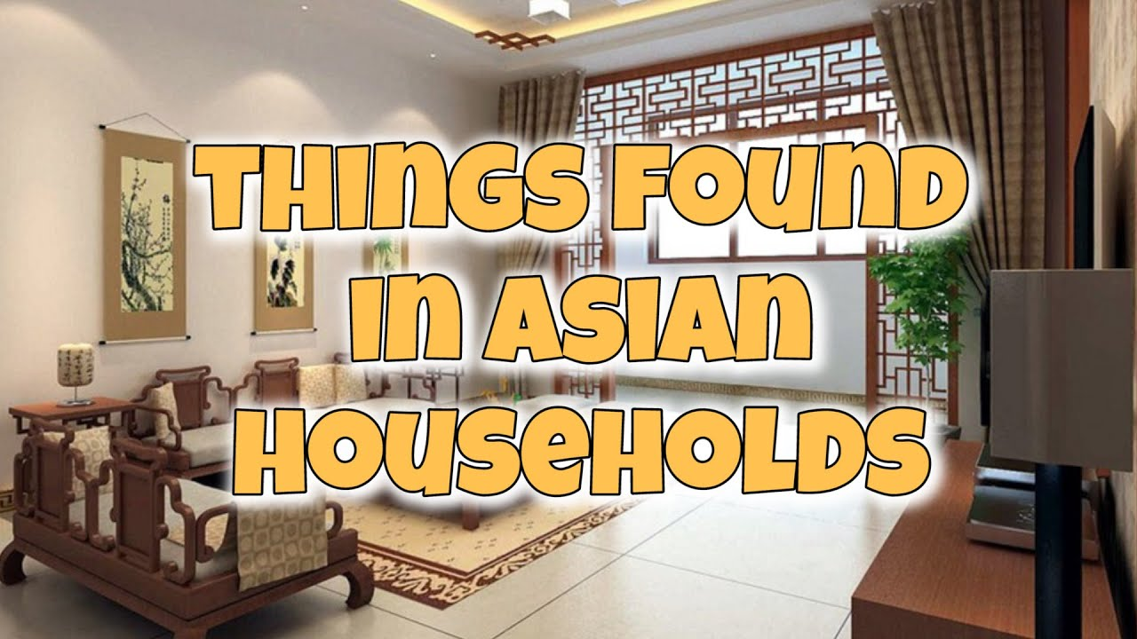 Items Found in Every Asian Household - YouTube