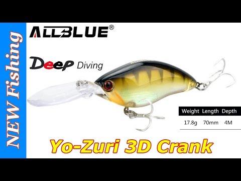 Yo Zuri 3D Crank с Aliexpress - воблер для тролинга от Allblue.