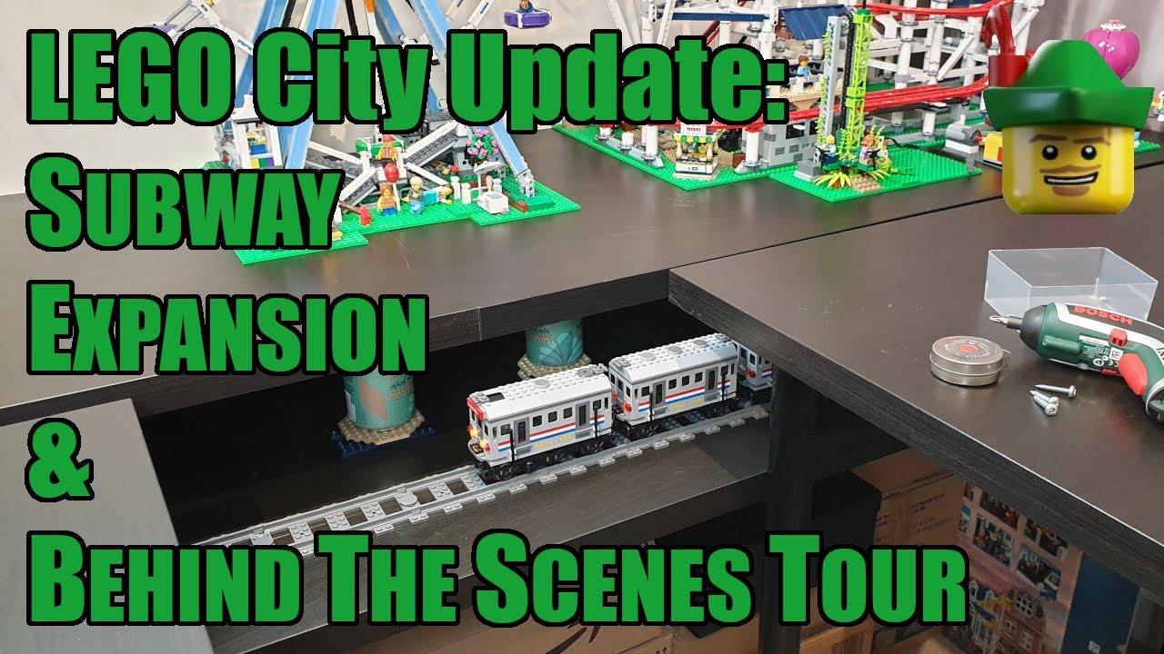 LEGO City Update - Subway Expansion & Behind The Scenes Tour 🚇🏹