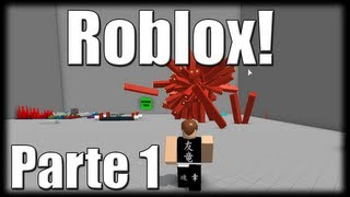 Playing Roblox-the red matter! -Part 1