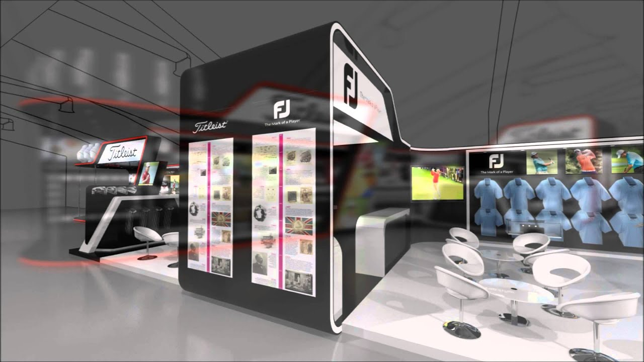 Exhibition Stand Design Northamptonshire : Exhibition stand design acushnet fly through youtube